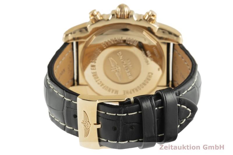 gebrauchte Luxusuhr Breitling Chronomat 44 Chronograph 18k Gold Automatik Kal. B01 Ref. HB0110  | 2102973 _1