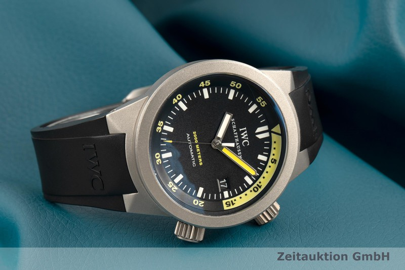 gebrauchte Luxusuhr IWC Aquatimer Titan Automatik Kal. 30110 Ref. IW353804  | 2102999 _0