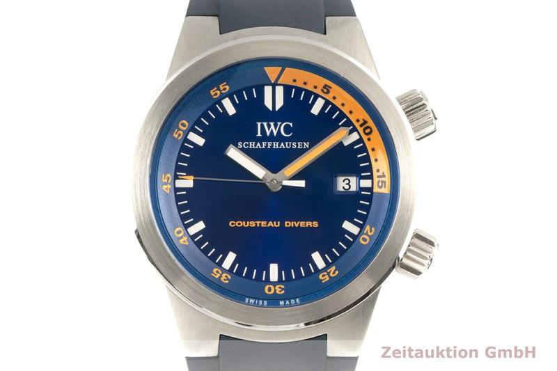 gebrauchte Luxusuhr IWC Aquatimer Stahl Automatik Kal. 30110 Ref. IW354806 LIMITED EDITION   2103000 _0