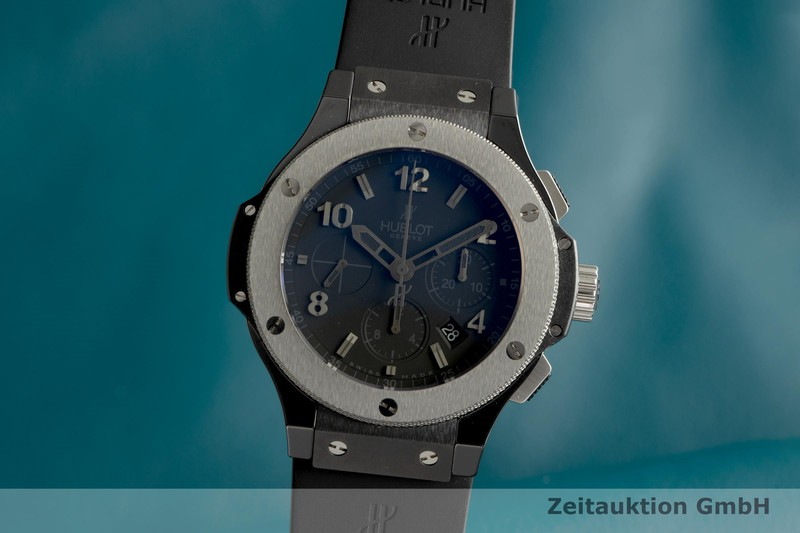 gebrauchte Luxusuhr Hublot Big Bang Chronograph Keramik / Titan Automatik Ref. 301CT, 130RX  | 2103003 _0