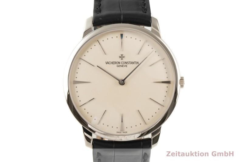 gebrauchte Luxusuhr Vacheron & Constantin Patrimony 18k Weissgold Handaufzug Kal. 1400 Ref. 81180  | 2103006 _0