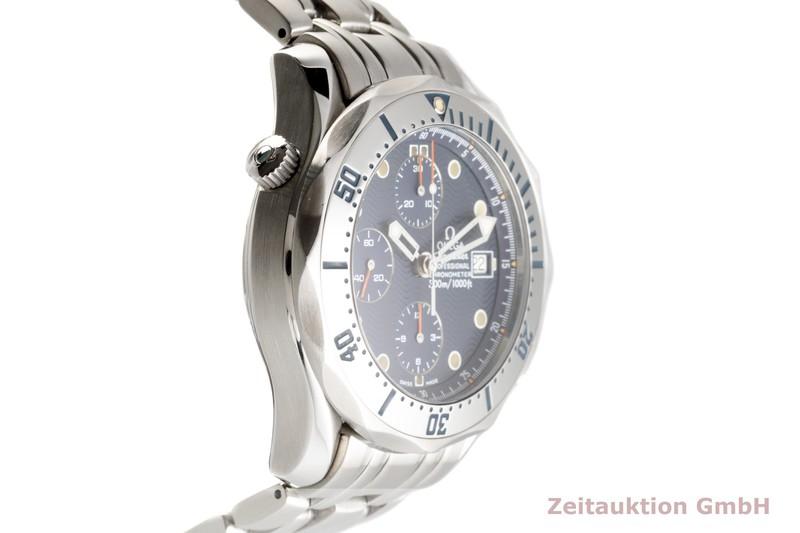 gebrauchte Luxusuhr Omega Seamaster Chronograph Stahl Automatik Kal. 1154 Ref. 2598.80.00  | 2103023 _0
