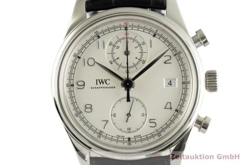 gebrauchte Luxusuhr IWC Portugieser Chronograph Stahl Automatik Kal. 89361 Ref. IW390403, 3904    2103025 _0