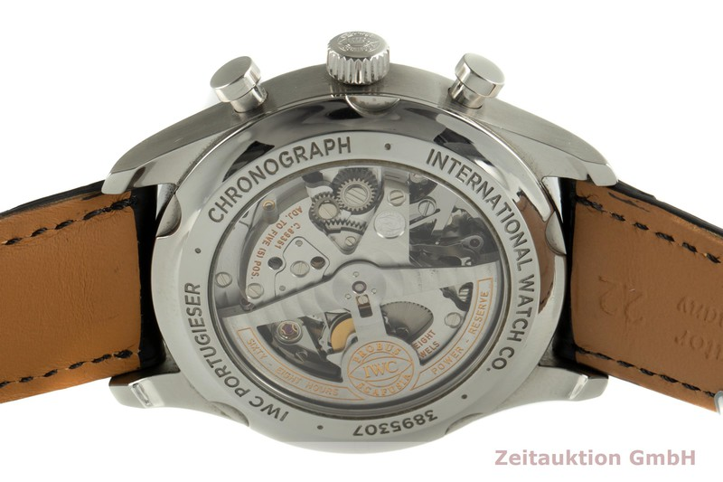 gebrauchte Luxusuhr IWC Portugieser Chronograph Stahl Automatik Kal. 89361 Ref. IW390403, 3904    2103025 _1