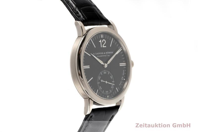 gebrauchte Luxusuhr A. Lange & Söhne SAX-O-MAT 18k Weissgold Automatik Kal. L.921.2 Ref. 301.027  | 2103036 _0