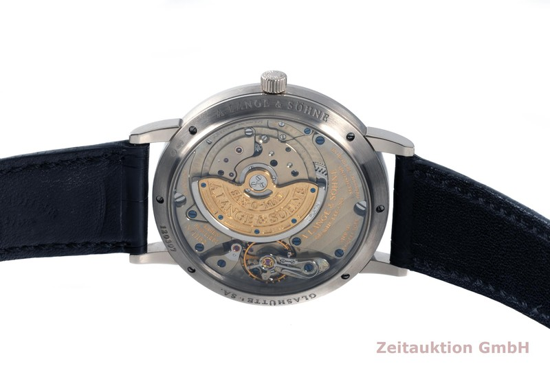 gebrauchte Luxusuhr A. Lange & Söhne SAX-O-MAT 18k Weissgold Automatik Kal. L.921.2 Ref. 301.027  | 2103036 _1