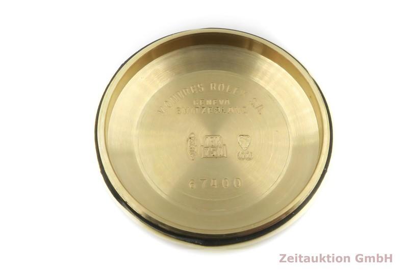 gebrauchte Luxusuhr Rolex Oyster Perpetual 18k Gold Automatik Kal. 2130 Ref. 67488  | 2103041 _1
