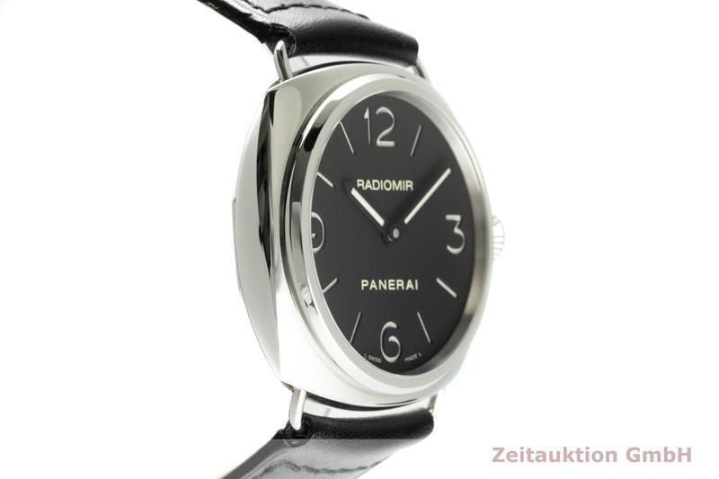 gebrauchte Luxusuhr Panerai Radiomir Stahl Handaufzug Ref. PAM00210 LIMITED EDITION | 2103044 _0