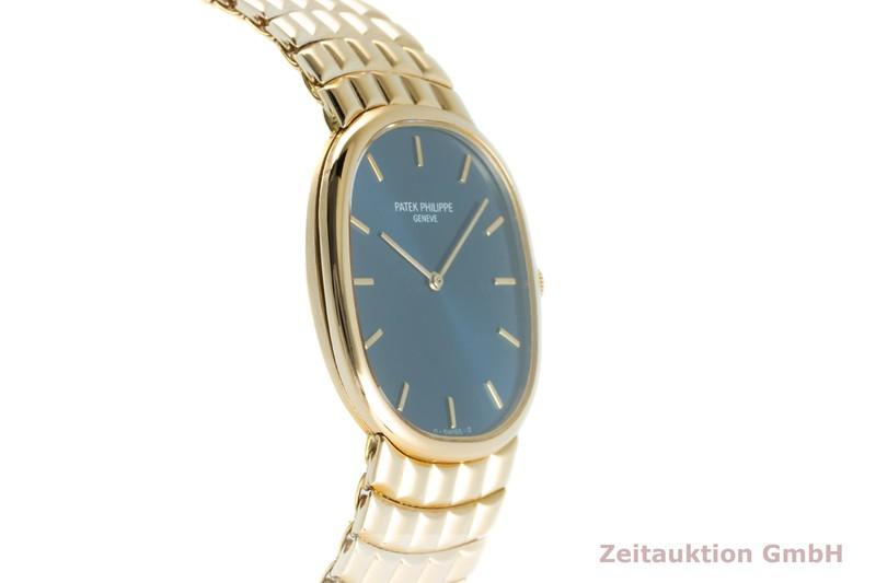 gebrauchte Luxusuhr Patek Philippe Ellipse 18k Gold Handaufzug Kal. 215 Ref. 3848/15  | 2103072 _0