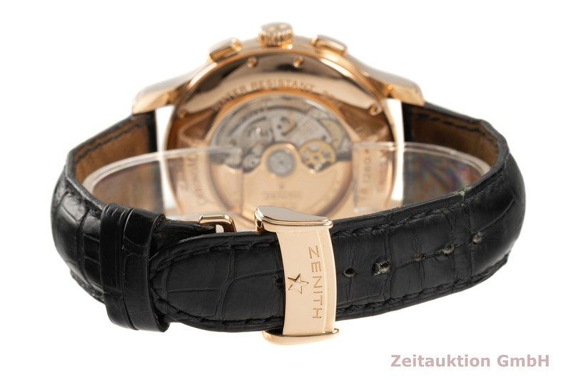 gebrauchte Luxusuhr Zenith El Primero Chronograph 18k Rotgold Automatik Kal. 4021 Ref. 18.1260.4021  | 2103079 _1
