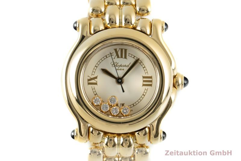 gebrauchte Luxusuhr Chopard Happy Sport 18k Gold Quarz Ref. 27/6150-23, 4142  | 2103099 _0