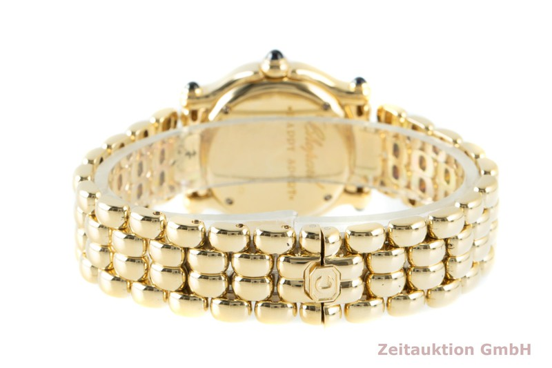 gebrauchte Luxusuhr Chopard Happy Sport 18k Gold Quarz Ref. 27/6150-23, 4142  | 2103099 _1