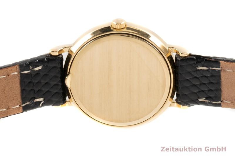 gebrauchte Luxusuhr Patek Philippe Calatrava 18k Gold Quarz Kal. E15 Ref. 4820    2103101 _1