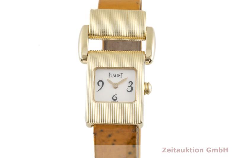 gebrauchte Luxusuhr Piaget Protocol 18k Gold Quarz Kal. 57P Ref. 5221  | 2103104 _0