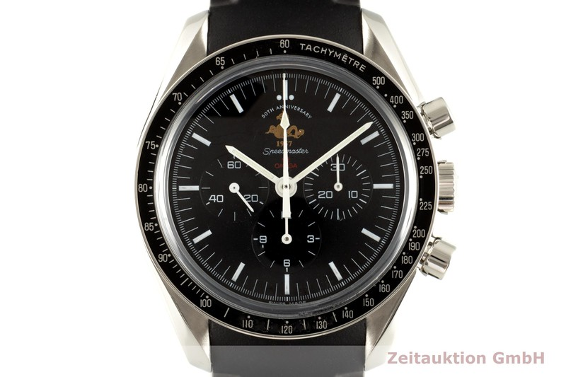 gebrauchte Luxusuhr Omega Seamaster Chronograph Stahl Handaufzug Kal. 1861 Ref. 311.30.42.30.01.001, 145.0301 LIMITED EDITION   2103111 _0