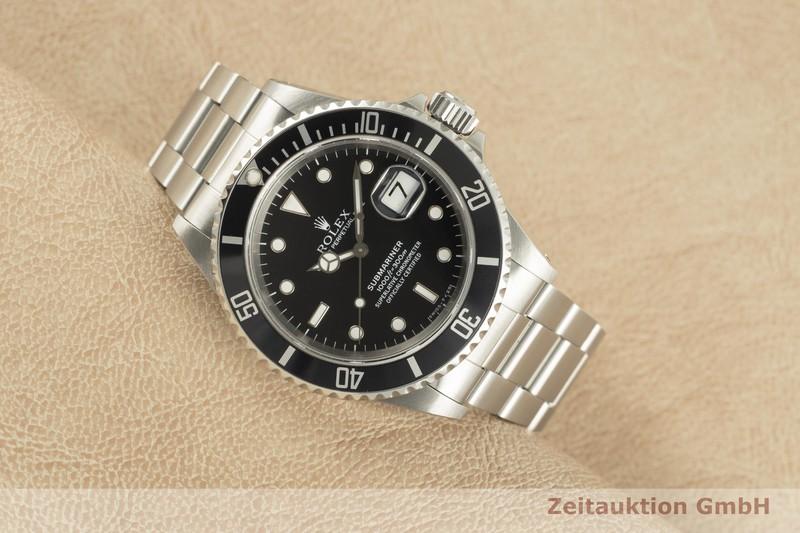 gebrauchte Luxusuhr Rolex Submariner Stahl Automatik Kal. 3135 Ref. 16610    2103115 _0