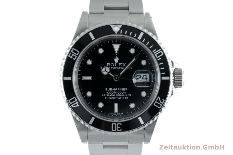 gebrauchte Luxusuhr Rolex Submariner Stahl Automatik Kal. 3135 Ref. 16610  | 2103125 _0