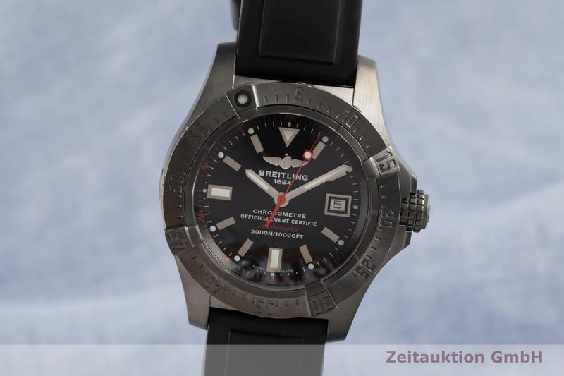 gebrauchte Luxusuhr Breitling Avenger Seawolf Stahl Automatik Kal. B17 Ref. M17330 LIMITED EDITION   2103128 _0