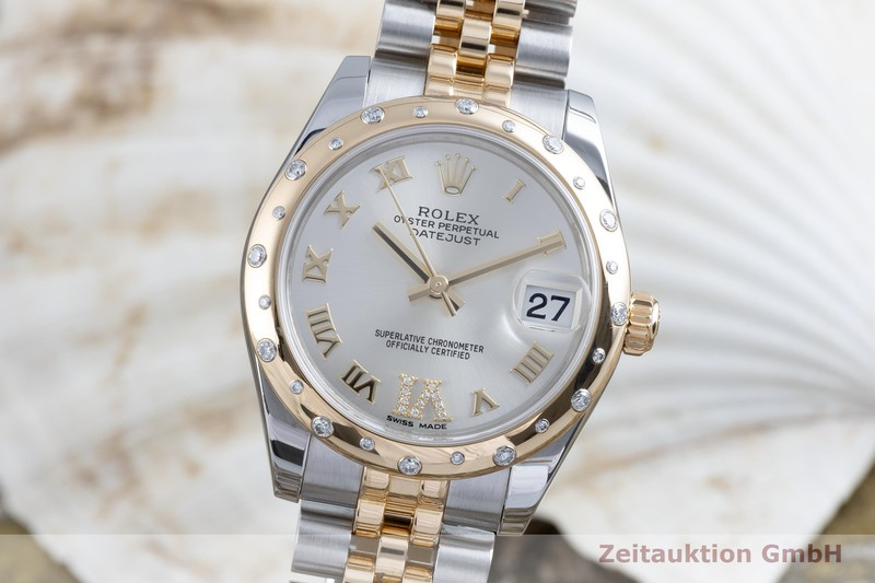 gebrauchte Luxusuhr Rolex Datejust Stahl / Gold Automatik Kal. 2235 Ref. 178343    2103135 _0