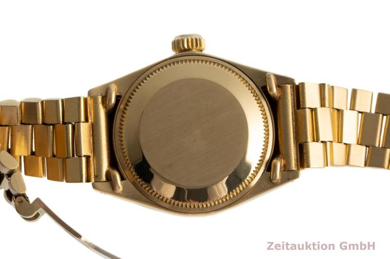 gebrauchte Luxusuhr Rolex Lady Datejust 18k Gold Automatik Kal. 2030 Ref. 6916/6917    2103137 _1