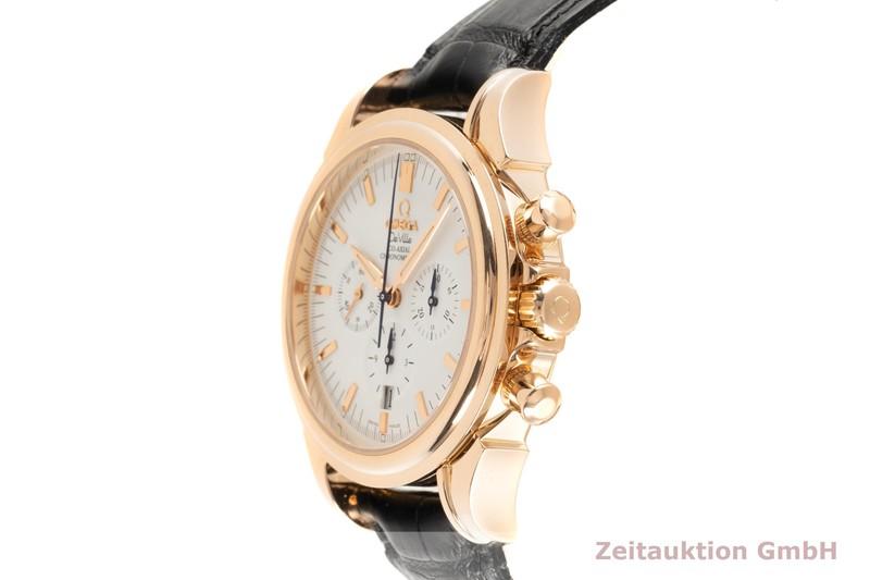 gebrauchte Luxusuhr Omega De Ville Chronograph 18k Rotgold Automatik Kal. 3313 Ref. 178.1700    2103141 _0