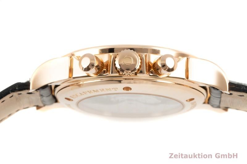 gebrauchte Luxusuhr Omega De Ville Chronograph 18k Rotgold Automatik Kal. 3313 Ref. 178.1700    2103141 _1