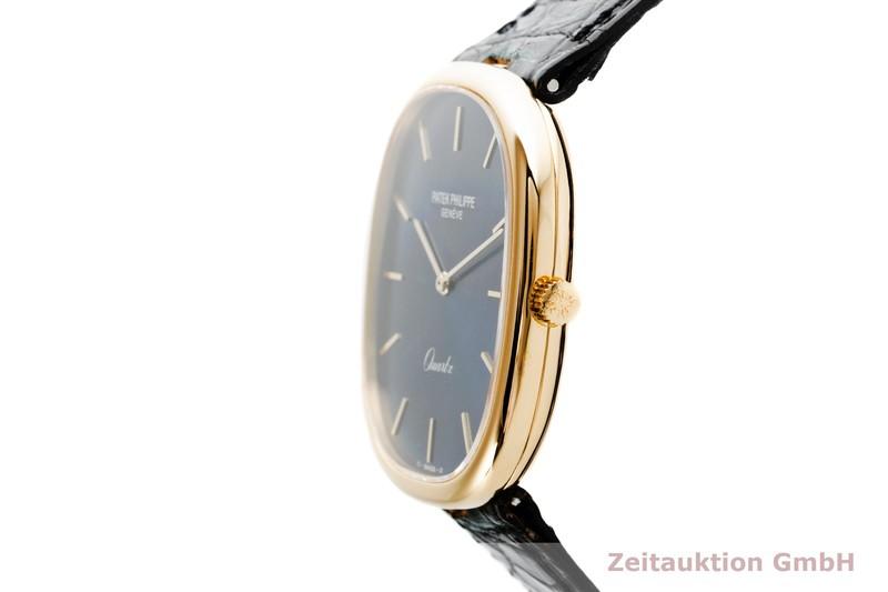 gebrauchte Luxusuhr Patek Philippe Ellipse 18k Gold Quarz Kal. E27 Ref. 3838  | 2103142 _0