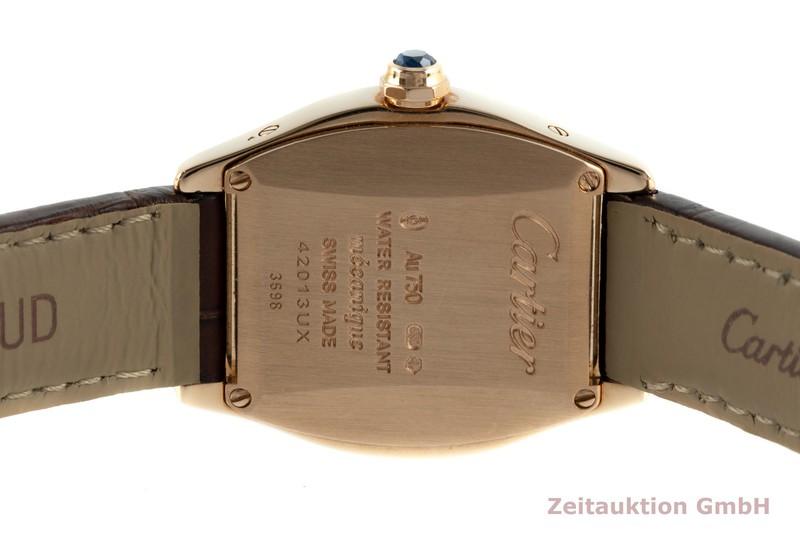 gebrauchte Luxusuhr Cartier Tortue 18k Rotgold Automatik Kal. 8971MC Ref. 3698  | 2103144 _1