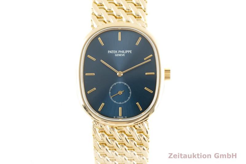 gebrauchte Luxusuhr Patek Philippe Ellipse 18k Gold Handaufzug Kal. 215 Ref. 3978  | 2103155 _0