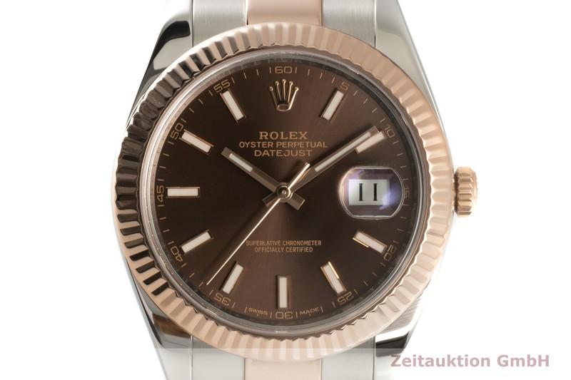 gebrauchte Luxusuhr Rolex Datejust Stahl / Gold Automatik Kal. 3235 Ref. 126331  | 2103186 _0