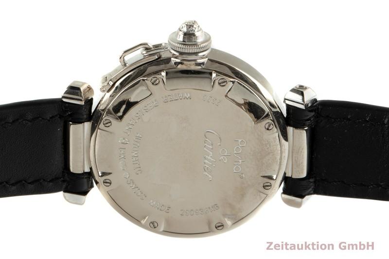 gebrauchte Luxusuhr Cartier Pasha 18k Weissgold Automatik Kal. 120 Ref. 2398    2103188 _1
