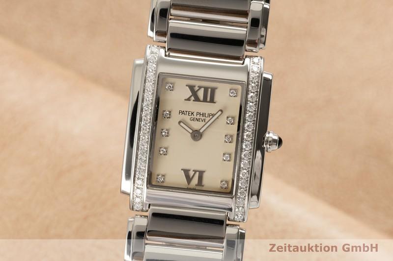 gebrauchte Luxusuhr Patek Philippe Twenty 4  Stahl Quarz Kal. E15 Ref. 4910/010A-011  | 2103196 _0