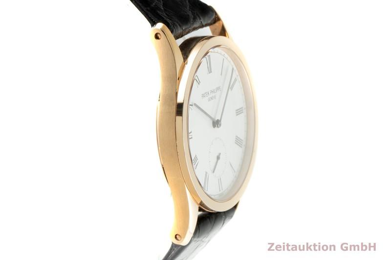 gebrauchte Luxusuhr Patek Philippe Calatrava 18k Gold Handaufzug Kal. 215 Ref. 3796  | 2103197 _0