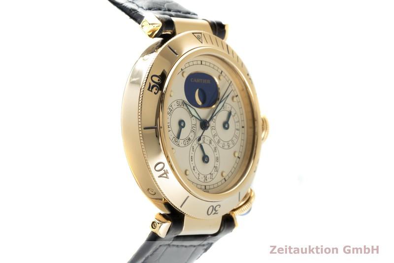 gebrauchte Luxusuhr Cartier Pasha 18k Gold Quarz Kal. 606 Ref. 30002  | 2103200 _0