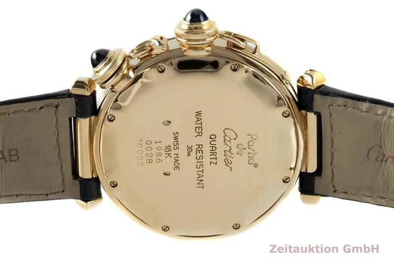 gebrauchte Luxusuhr Cartier Pasha 18k Gold Quarz Kal. 606 Ref. 30002  | 2103200 _1