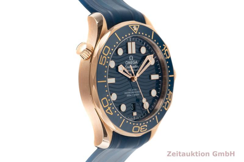 gebrauchte Luxusuhr Omega Seamaster 18k Rotgold Automatik Kal. 8801 Ref. 210.62.42.20.03.001    2103206 _0