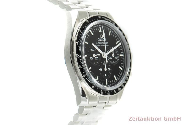 gebrauchte Luxusuhr Omega Speedmaster Moonwatch Chronograph Stahl Handaufzug Kal. 3861 Ref. 310.30.42.50.01.002    2103210 _0
