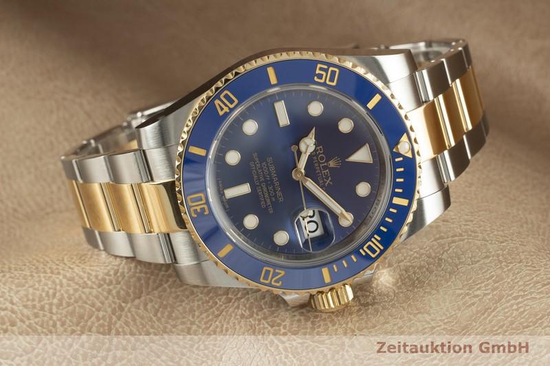 gebrauchte Luxusuhr Rolex Submariner Stahl / Gold Automatik Kal. 3135 Ref. 116613LB    2103240 _0
