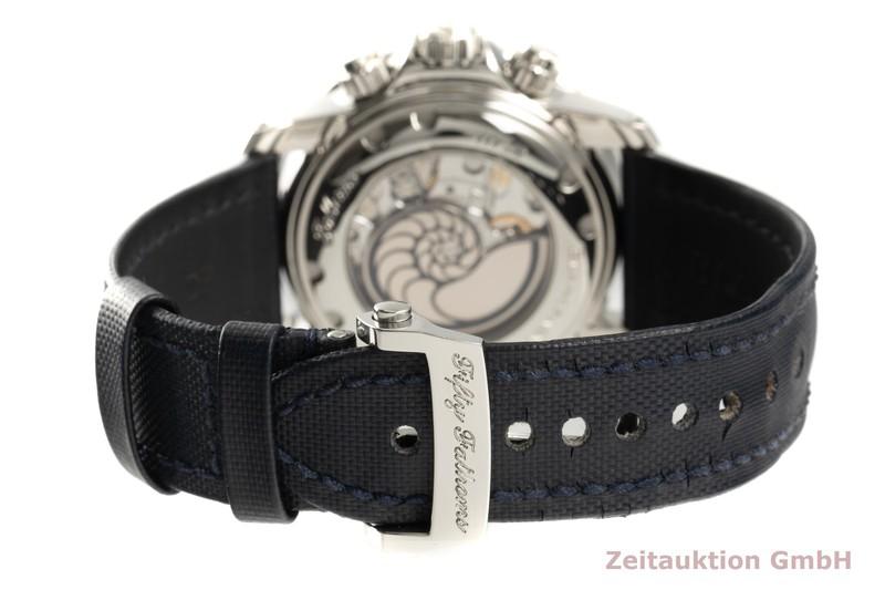 gebrauchte Luxusuhr Blancpain Fifty Fathoms Chronograph Stahl Automatik Kal. 66BF8 Ref. 5066F-1140-52B  | 2103241 _1