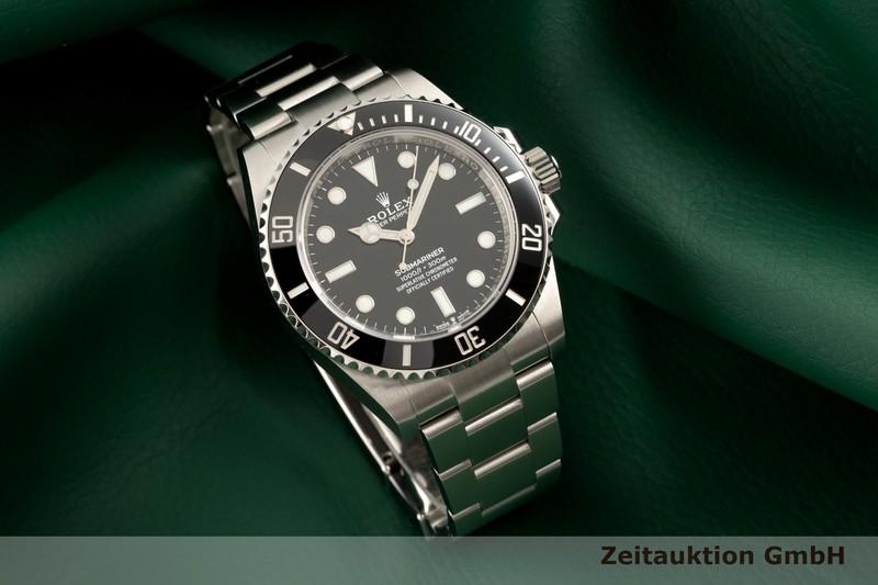 gebrauchte Luxusuhr Rolex Submariner Stahl Automatik Kal. 3230 Ref. 124060  | 2103243 _0