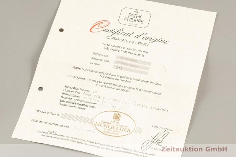 gebrauchte Luxusuhr Patek Philippe Calatrava 18k Gold Handaufzug Kal. 215 Ref. 3919/5  | 2103247 _0