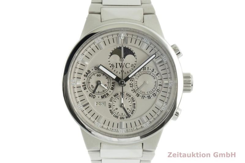 gebrauchte Luxusuhr IWC Ewiger Kalender Chronograph Stahl Automatik Kal. C.79261 Ref. IW3756  | 2103257 _0