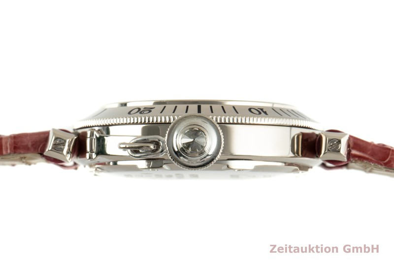 gebrauchte Luxusuhr Cartier Pasha 18k Weissgold Automatik Kal. 049 Ref. 2372    2103259 _1