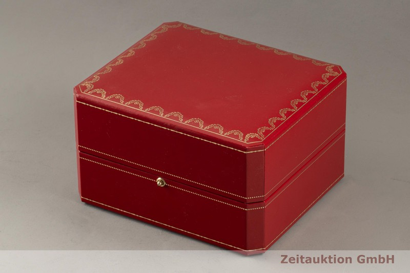 gebrauchte Luxusuhr Cartier Tank 18k Gold Quarz Kal. 057 Ref. 2442  | 2103263 _0