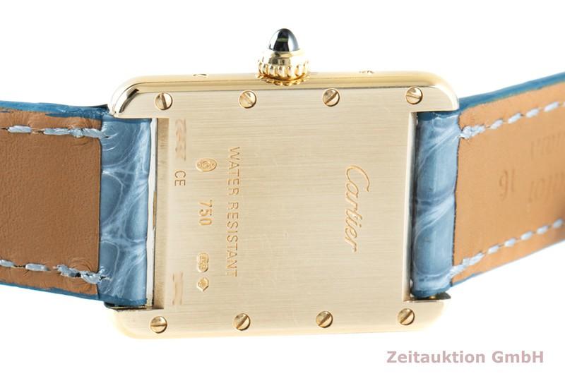 gebrauchte Luxusuhr Cartier Tank 18k Gold Quarz Kal. 057 Ref. 2442  | 2103263 _1