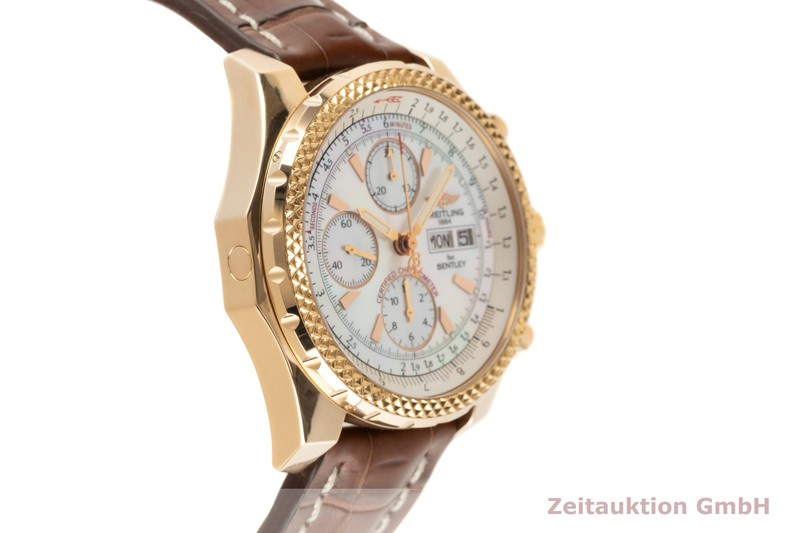 gebrauchte Luxusuhr Breitling Bentley GT Chronograph 18k Rotgold Automatik Kal. B13 Ref. H13363 LIMITED EDITION | 2103267 _0