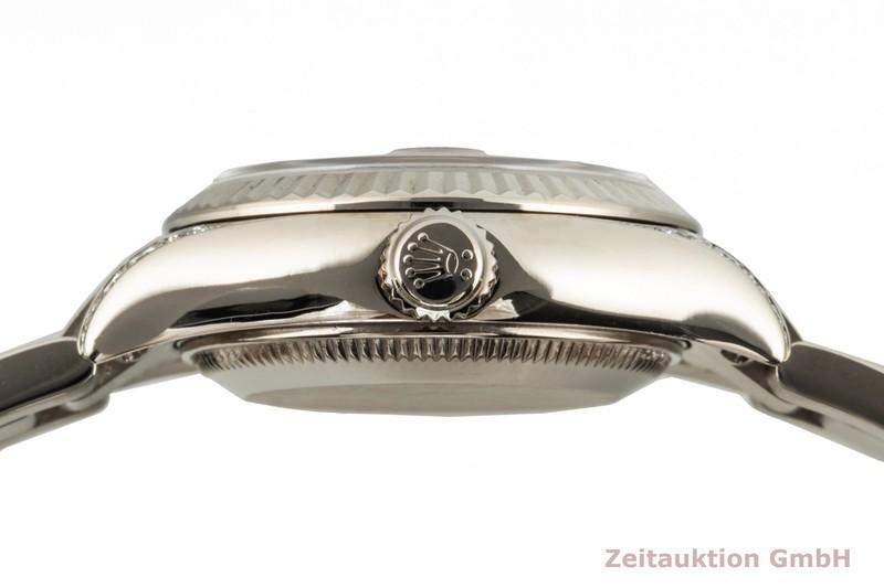 gebrauchte Luxusuhr Rolex Lady Datejust 18k Weissgold Automatik Kal. 2235 Ref. 179239  | 2103268 _1