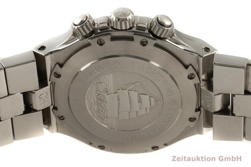 gebrauchte Luxusuhr Vacheron & Constantin Overseas Chronograph Stahl Automatik Kal. 1137 Ref. 49140    2103274 _1