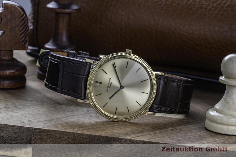 gebrauchte Luxusuhr Patek Philippe Calatrava 18k Gold Handaufzug Kal. 175 Ref. 3520  | 2103275 _0
