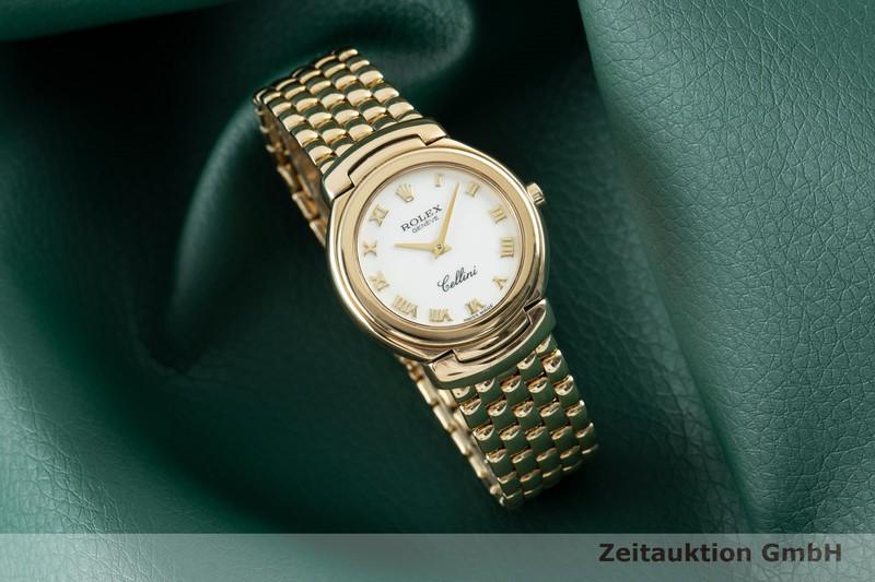 gebrauchte Luxusuhr Rolex Cellini 18k Gold Quarz Kal. 6620 Ref. 6621  | 2103278 _0